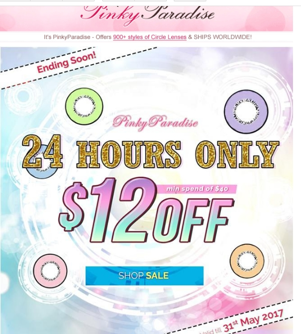 Pinkyparadise coupon code