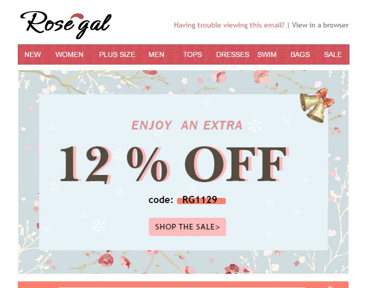 Rosegal coupon code