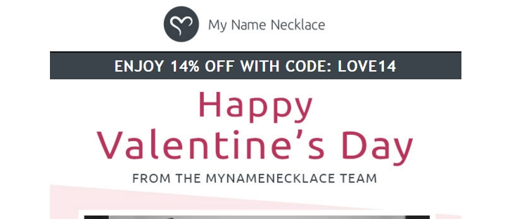 My name necklace coupon codes 2018