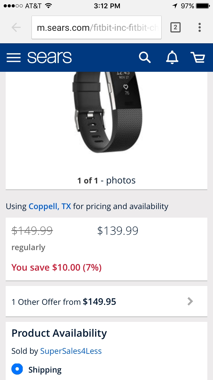 Discount coupons for fitbits