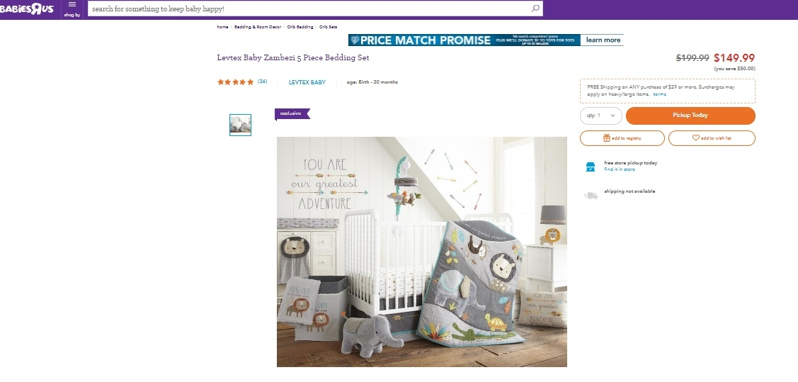 Amazon Coupon Code Crib Bedding