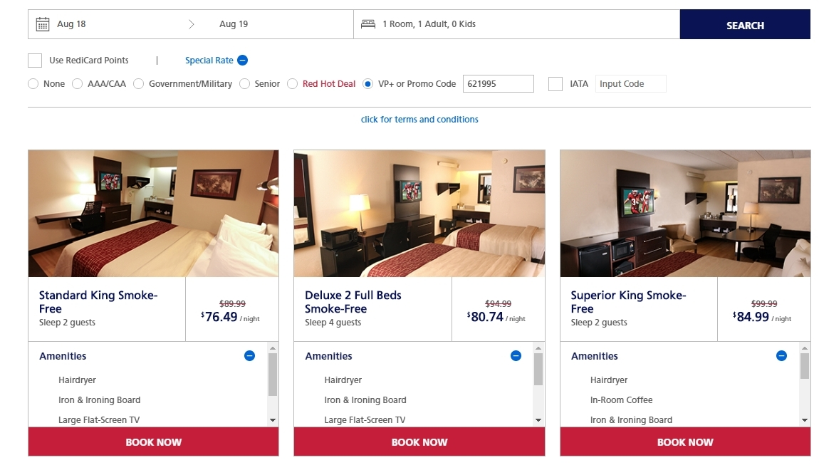 Red roof inn coupons online