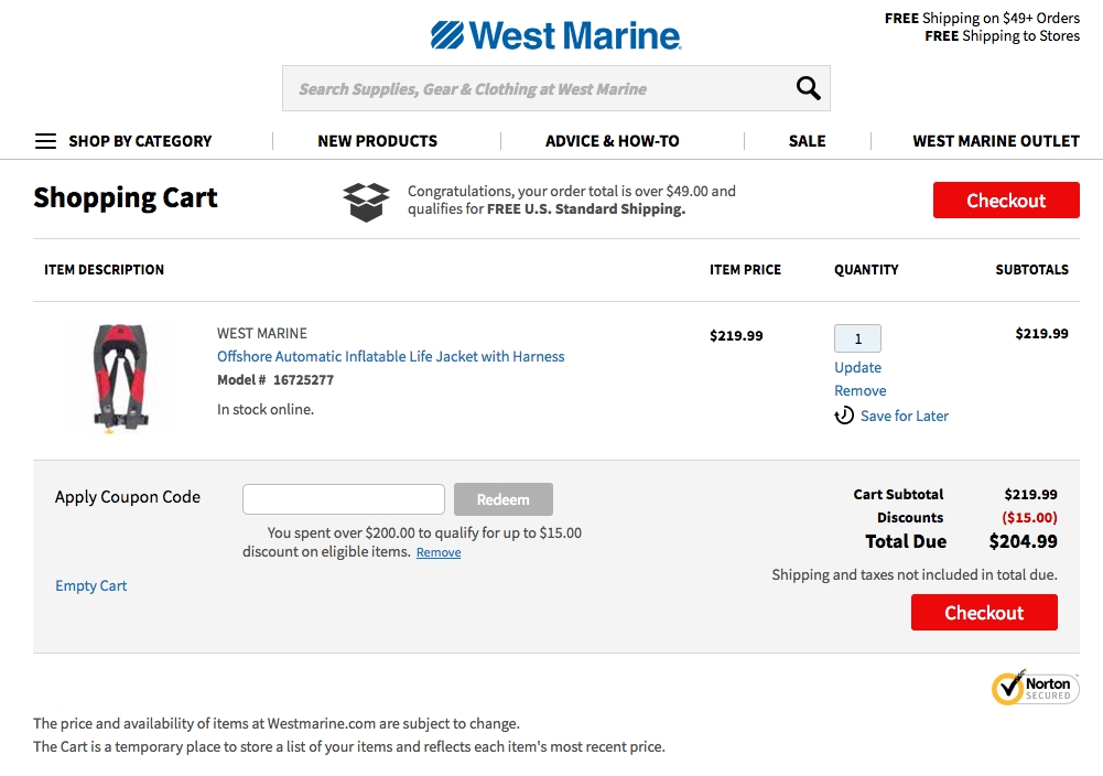 West marine coupon printable