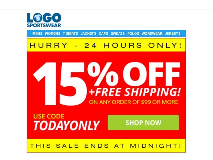 Logo sportswear coupon code