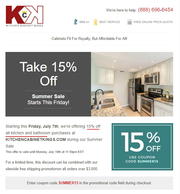 Cabinets to go discount coupon