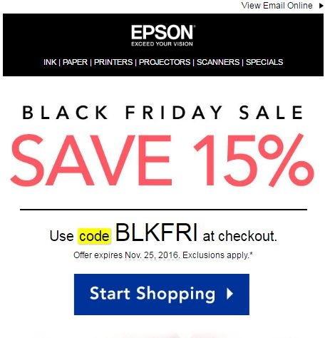 photograph regarding Epson Ink Coupon Printable named Coupon epson : Oscar mayer bacon printable discount coupons 2018