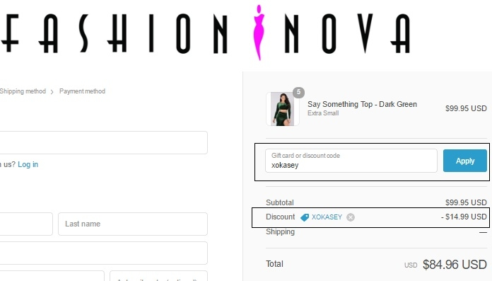 Fashion Nova Coupons amp; Promo Codes