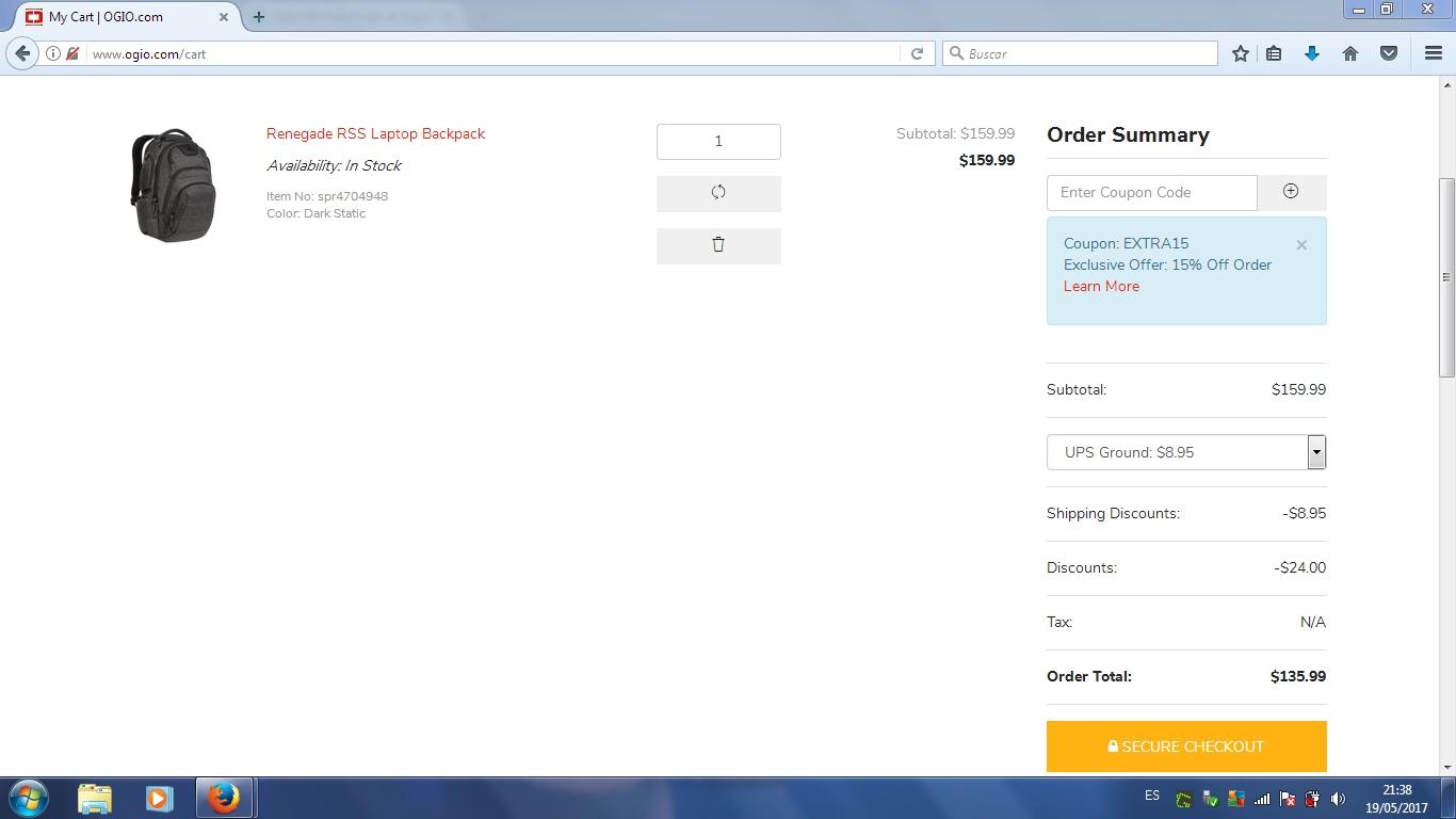 Ogio coupon code