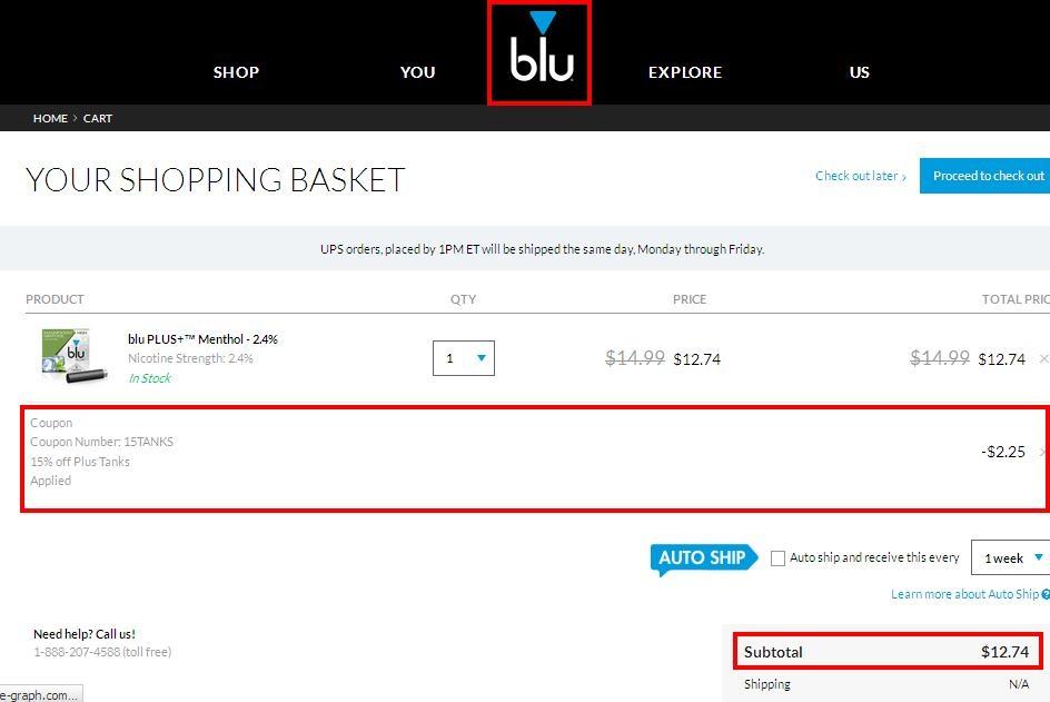 Blu cig coupon codes 2018