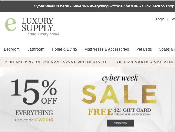 Eluxury supply coupon code