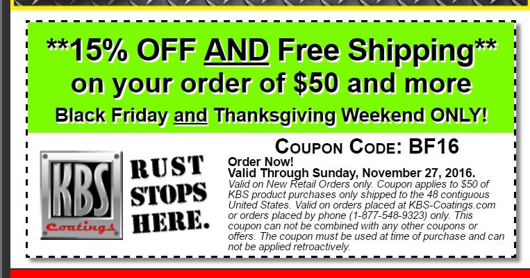 Kbs coatings coupon