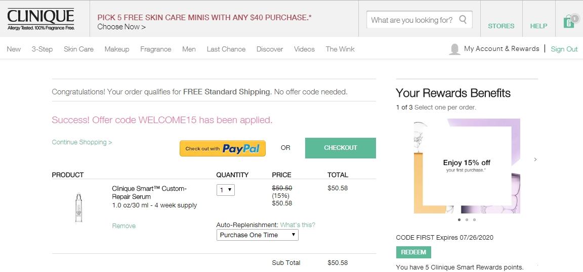 Clinique canada coupon code