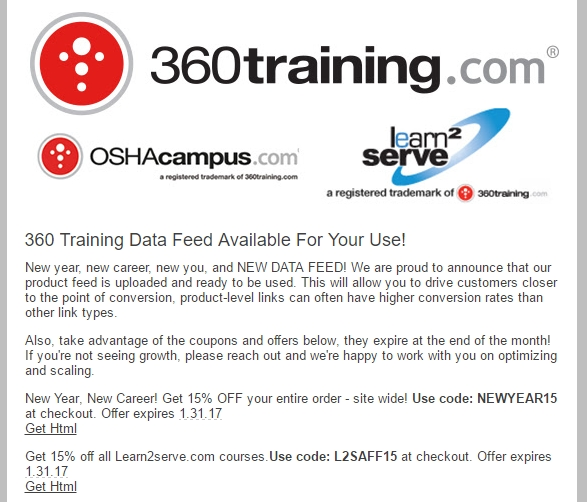 training Promo Codes & Black Friday Deals for November, Save with 32 active training promo codes, coupons, and free shipping deals. 🔥 Today's Top Deal: Get 10% Off 30 Hour Pl and Dol, Construction and General Industry Courses. On average, shoppers save $19 using training coupons from selectcarapp.ml