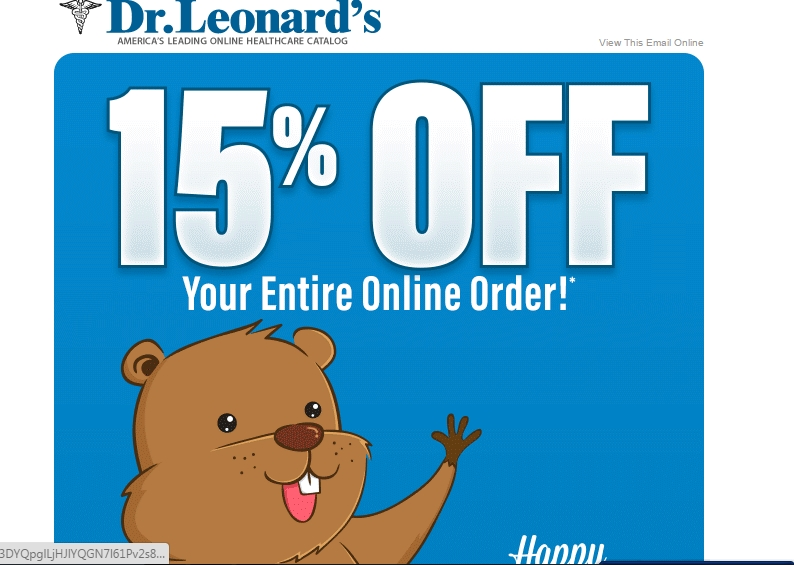 Dr leonard's coupon code