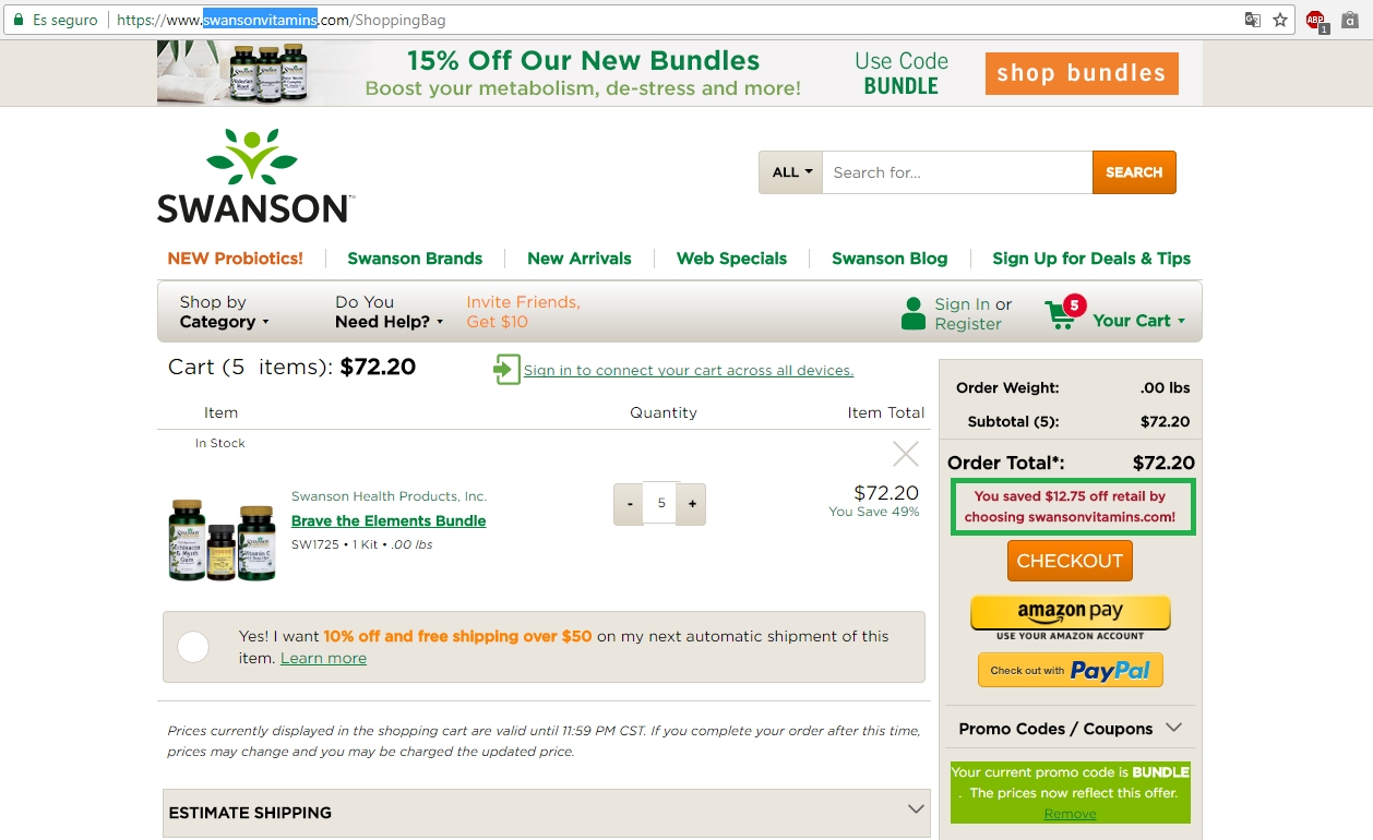 Swanson coupon codes