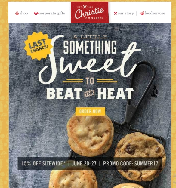 Christie Cookies Coupons April 2019: Coupon & Promo Codes