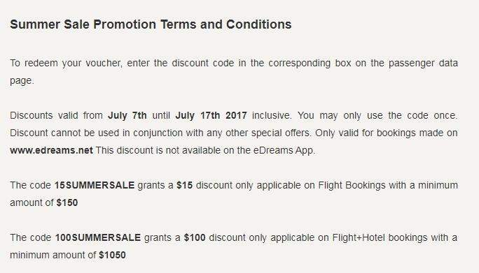 Edreams coupon code