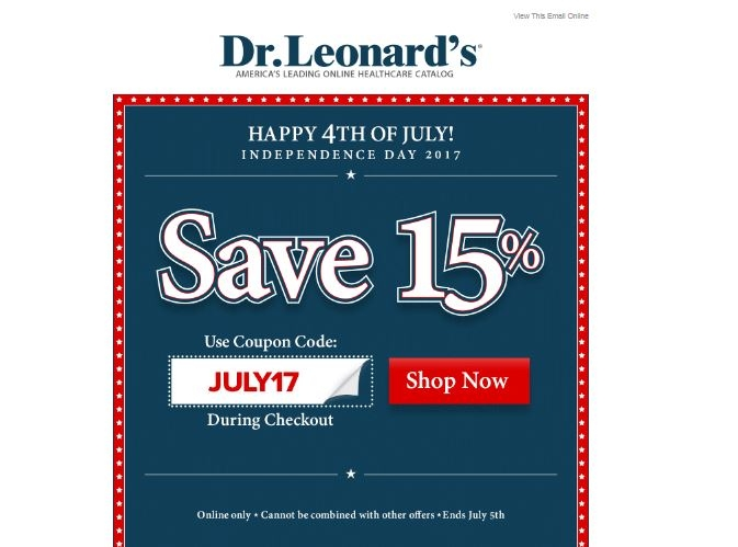 Leonards coupon code