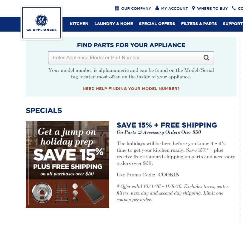 Ge coupon code