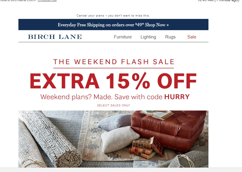 Birch lane coupon code
