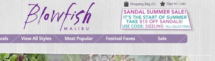 Blowfish coupon