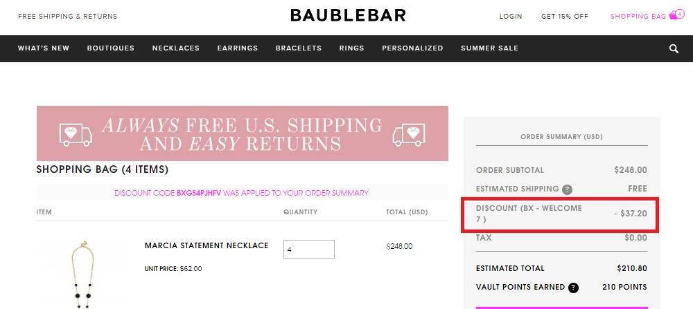 Baublebar discount code - Ebay coupon code 50 off