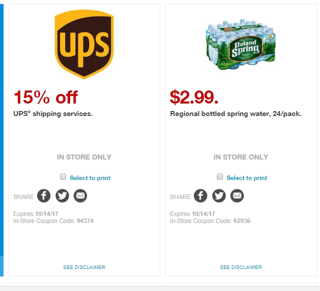 Ups shipping discount coupons
