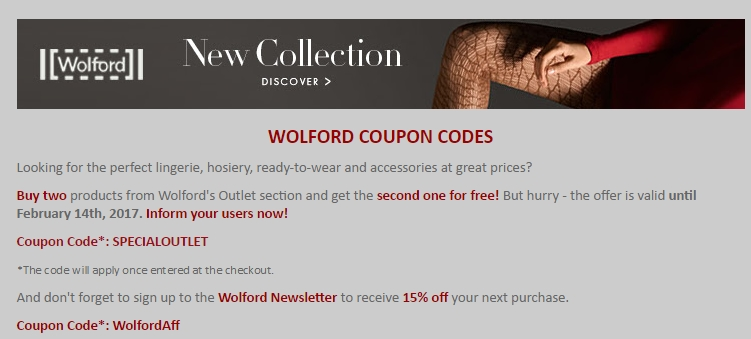 Wolford coupon code