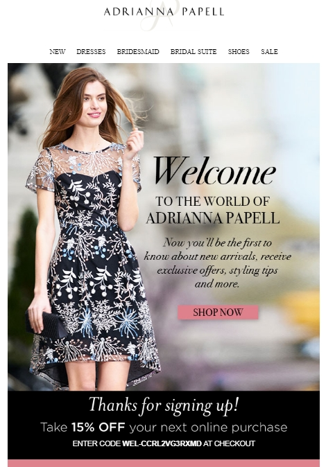 Adrianna papell coupon code