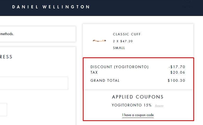 Danny k coupon code