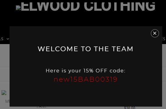 On average, Elwood Clothing offers 10 codes or coupons per month. Check this page often, or follow Elwood Clothing (hit the follow button up top) to keep updated on their latest discount codes. Check for Elwood Clothing's promo code exclusions. Elwood Clothing promo codes sometimes have exceptions on certain categories or brands.5/5(3).