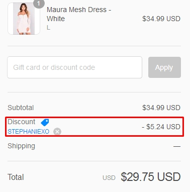 Fashion nova coupon code 2018