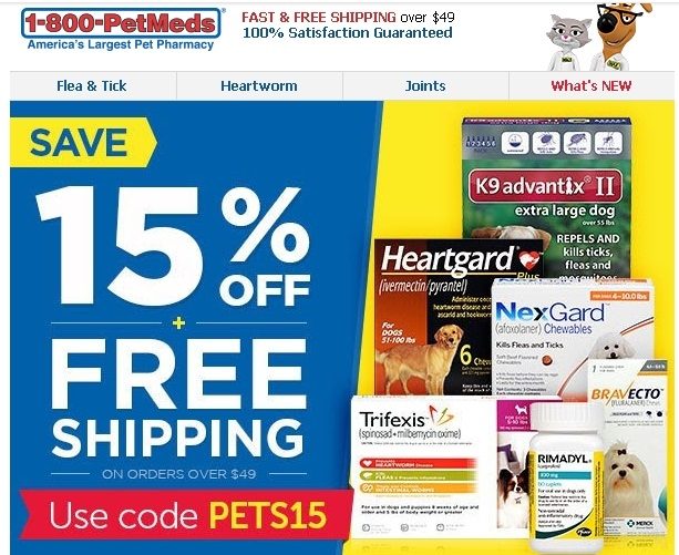 1 800 petmeds coupon code