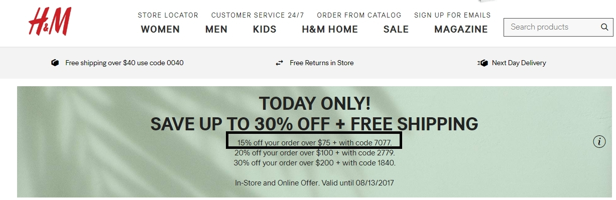 About H&M. H&M is a powerhouse of a clothing company chain that aims to provide style and quality to fashion-forward people like you. You'll find inspiring fashions for men, women, and children alike with unbeatable quality at an affordable price.