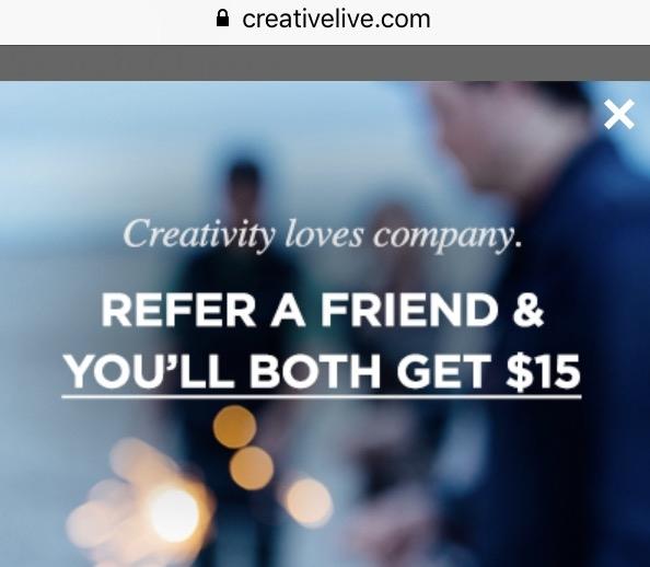 Creativelive Promo Codes