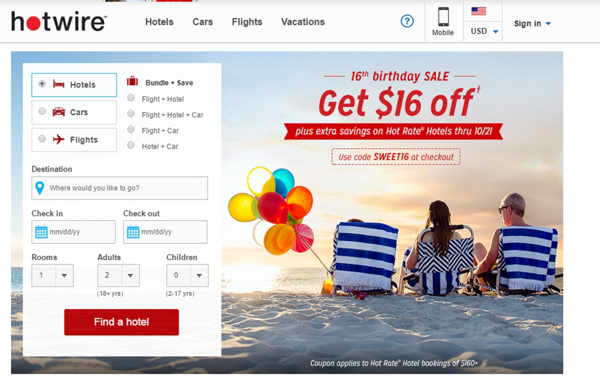 Hotwire discount coupons