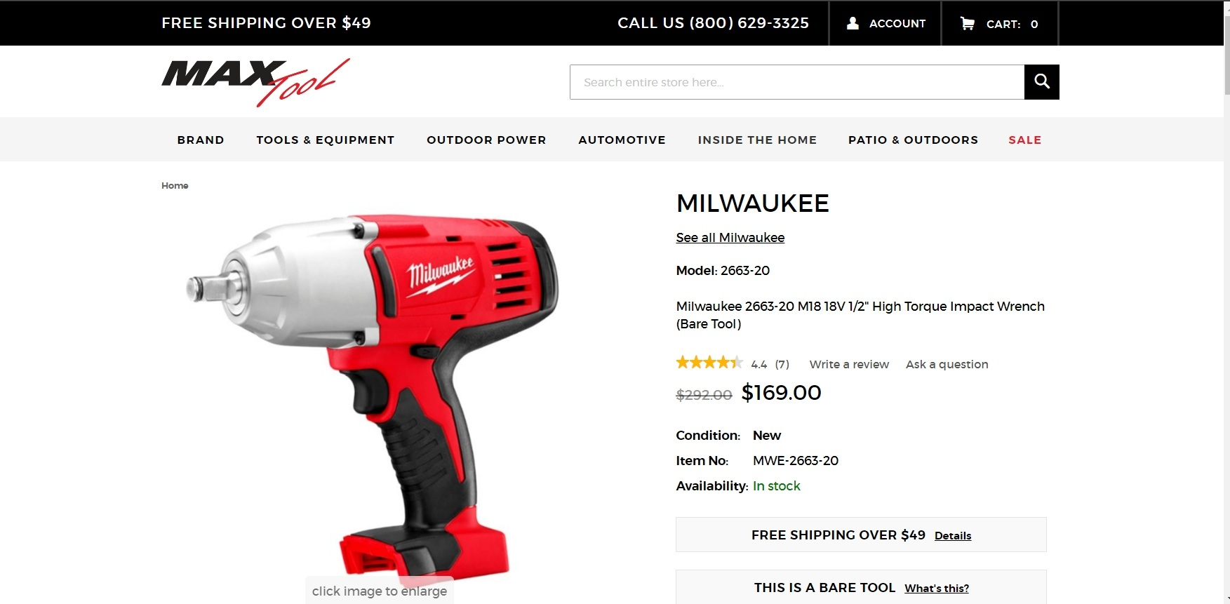 Save money on efficient and powerful tools for your work and home projects with Milwaukee coupons. The brand, born in the s as a tool-repair company, has decades of experience developing ever more powerful motors and batteries and refining its designs.