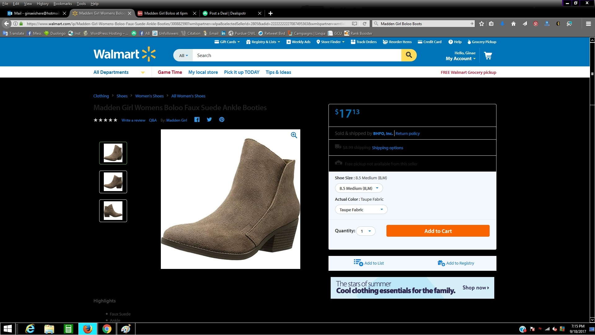 How to Use Clarks Coupons: After selecting the size and color for your selected item, you can apply discount codes and proceed to checkout through the shopping bag tab. Type in your coupon information in the box labeled