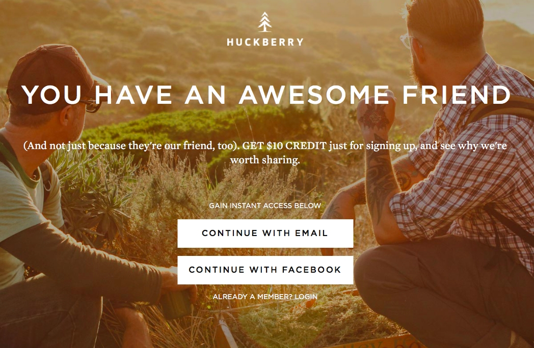Huckberry coupon code