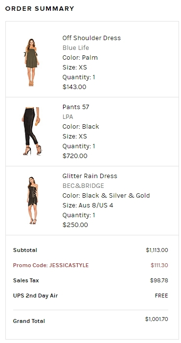 Revolve clothing coupon code