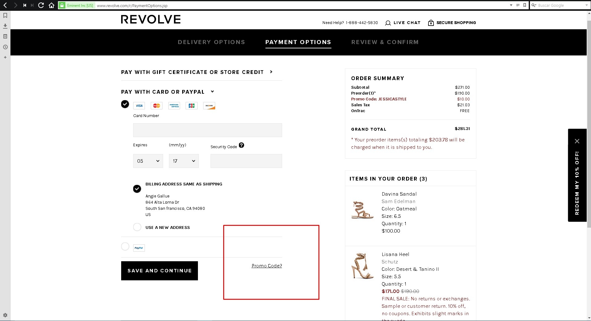 Revolve coupon code