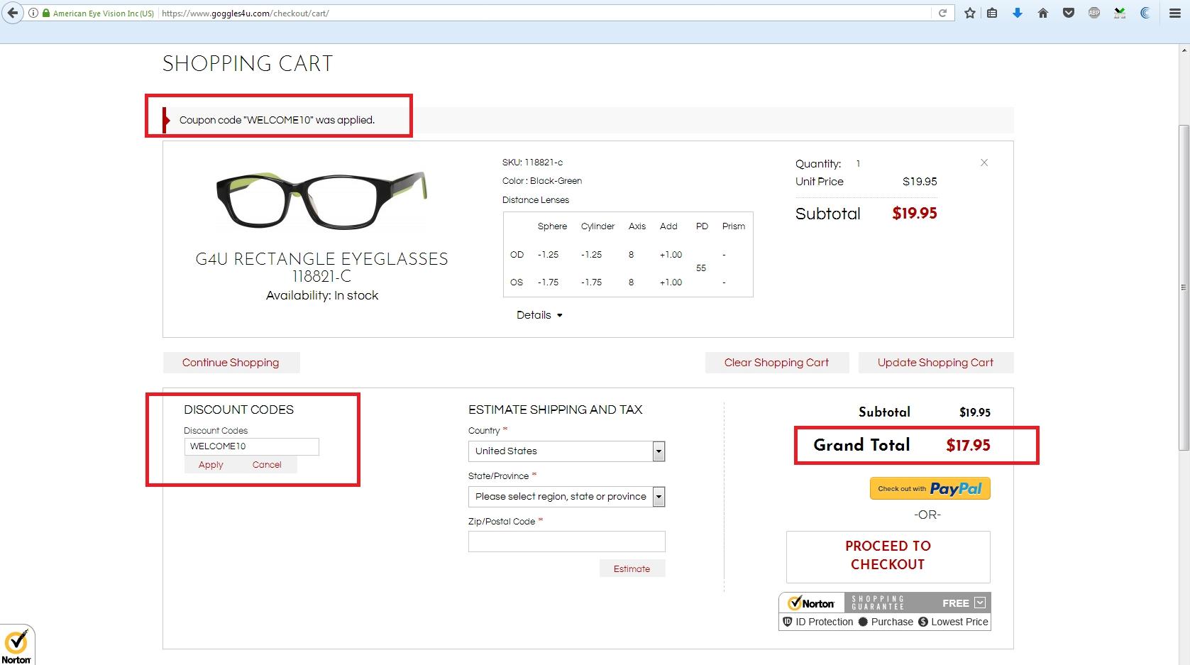 Goggles4u coupon code