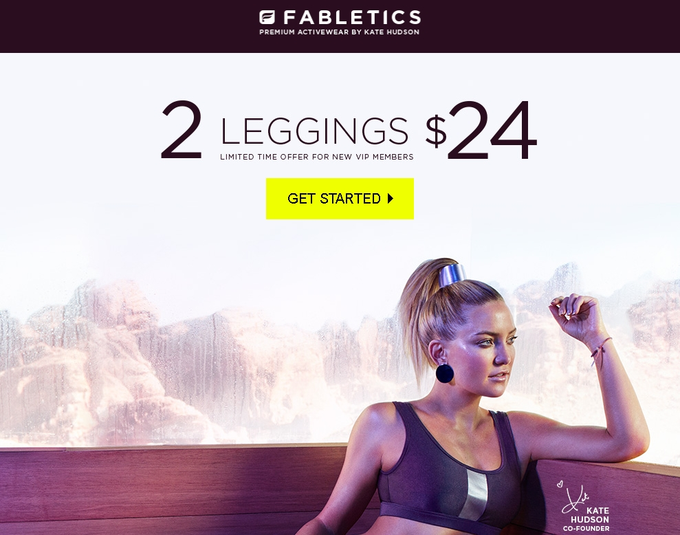 Fabletics coupon code
