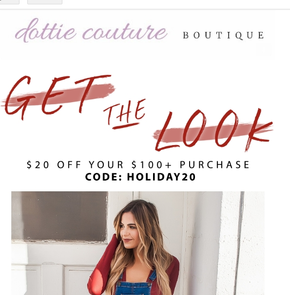 Dottie couture coupon code