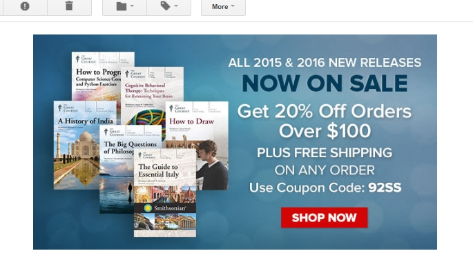 Expired The Great Courses Coupons