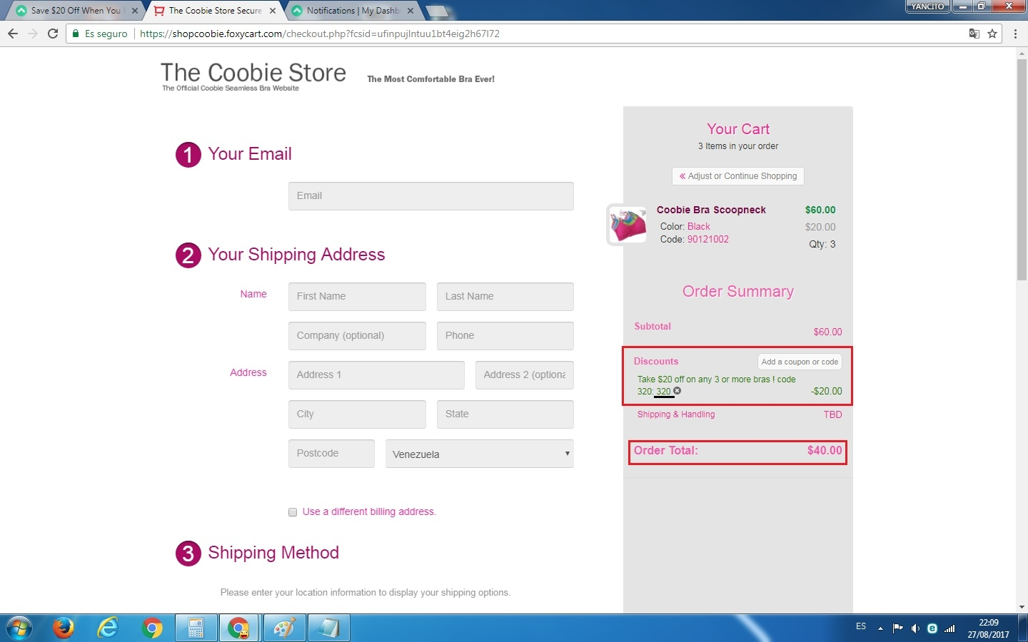 Coobie bra coupon code