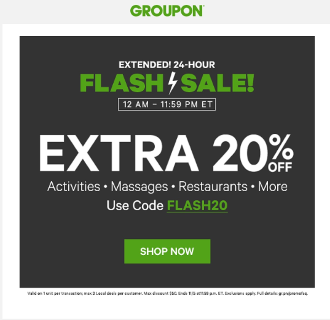 "Plus, once you register for your free Groupon account, you can get a $10 referral bonus for each new member that you refer to buncbimaca.cf Groupon Promotional Code $10 Off First Groupon. If you are new to Groupon, you can use the Groupon Promotional Code ""WELCOME"" to save $10 off your first Groupon of $25 or more."