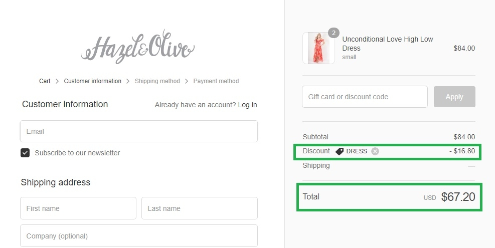 Simply dresses coupon code june 2018