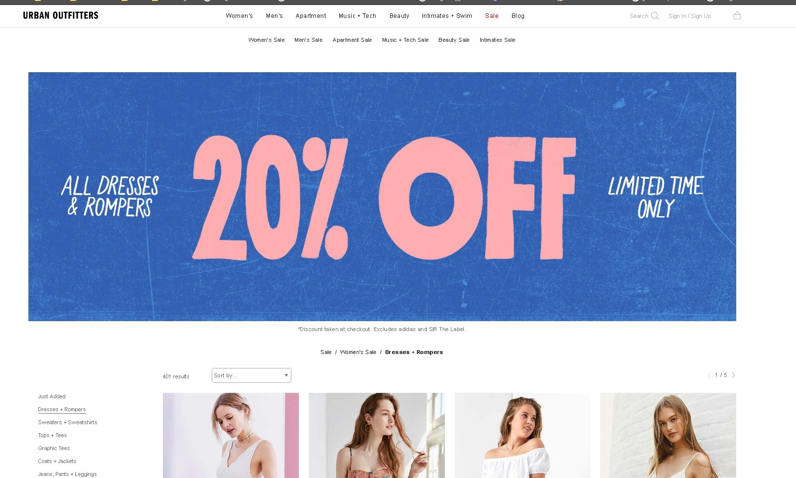 Urban outfitters coupons 20 off