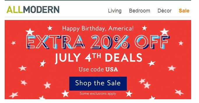 All Modern 10% Off Coupon Codes 2018